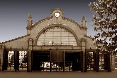 Depot in Frankfurt Bockenheim